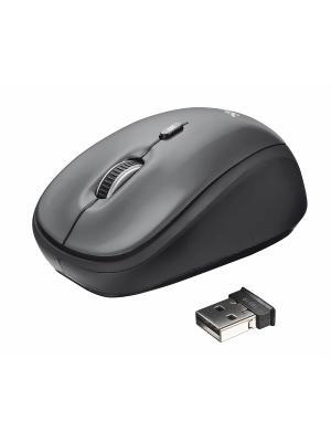 Мышь 18519  Trust Yvi Wireless Mouse - black. Цвет: черный