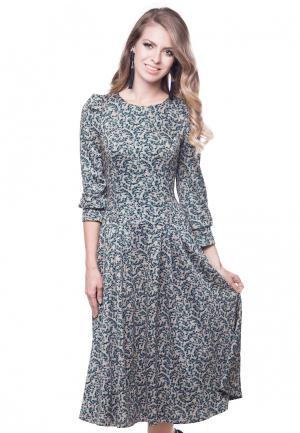 Платье Olivegrey. Цвет: бежевый