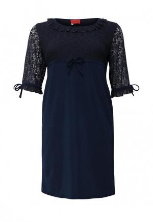 Платье O`Queen. Цвет: синий