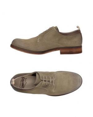Обувь на шнурках SMITH'S AMERICAN. Цвет: бежевый