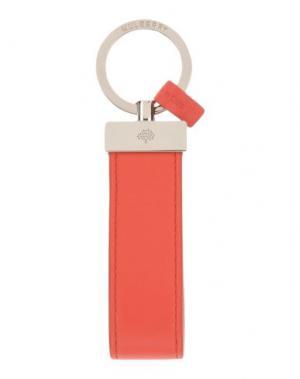 Брелок для ключей MULBERRY. Цвет: красный