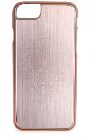 Чехол для iPhone 6S/6 с отделкой металлом Kenzo. Цвет: светло-розовый