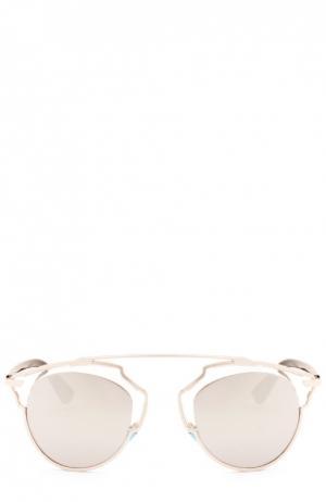 Солнцезащитные очки Dior. Цвет: серый