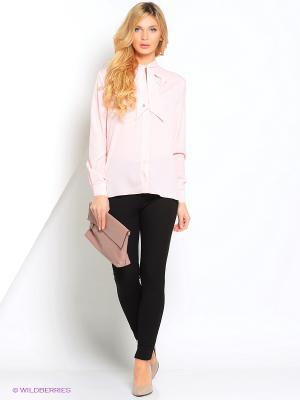 Блузка Кэнди CLABIN. Цвет: розовый