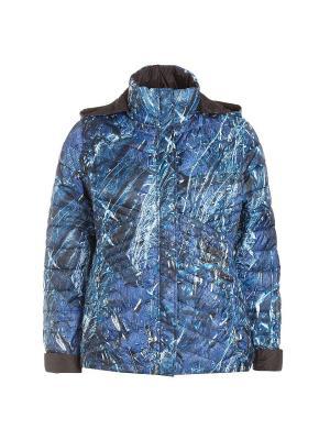 Куртка Fiorella Rubino. Цвет: синий, белый