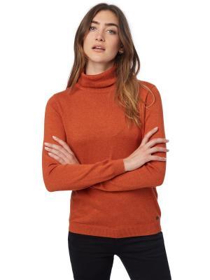 Водолазка TOM TAILOR. Цвет: оранжевый
