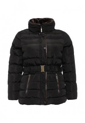 Куртка утепленная Emoi Size Plus. Цвет: черный
