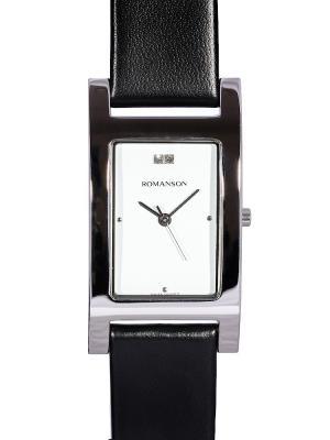 Часы DL9198MM Romanson. Цвет: черный,серебристый