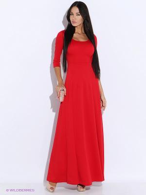 Платье Colambetta. Цвет: красный