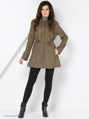 Куртки PAULIINA Maritta. Цвет: коричневый