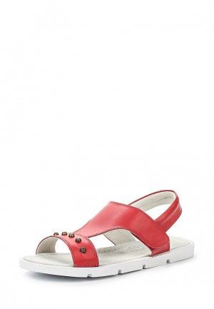 Сандалии Zenden Collection. Цвет: красный