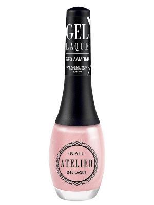 Гель-лак для ногтейNail Atelier тон 108, 12мл Vivienne Sabo. Цвет: бледно-розовый