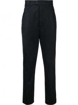 Зауженные брюки Berthold. Цвет: чёрный