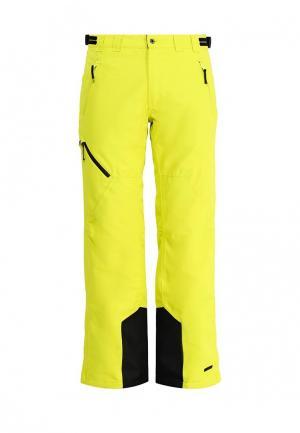 Брюки горнолыжные Icepeak. Цвет: желтый