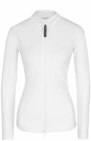 Спортивная куртка на молнии Adidas by Stella McCartney. Цвет: белый