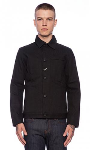 Джинсовая куртка Rogue Territory. Цвет: черный