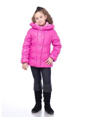 Куртка SAIMA. Цвет: фуксия
