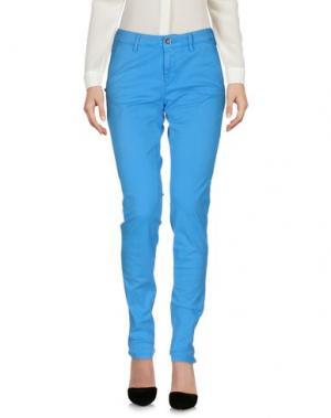 Повседневные брюки 40WEFT. Цвет: лазурный
