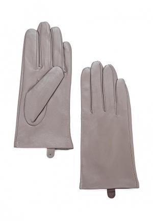 Перчатки MAISONQUE. Цвет: серый