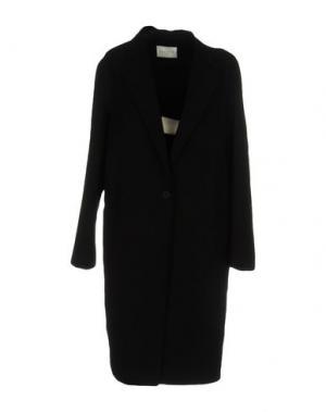 Легкое пальто SANDRO. Цвет: черный