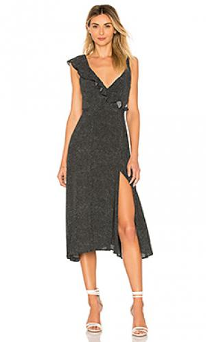 Платье diana ROLLAS ROLLA'S. Цвет: черный