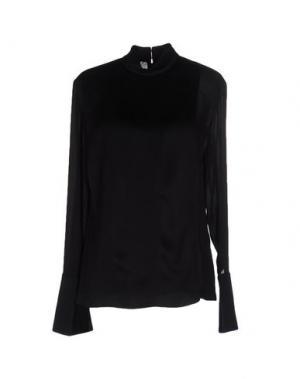 Блузка EDUN. Цвет: черный