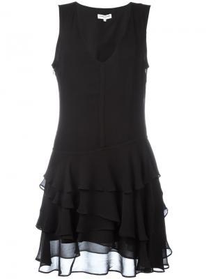 Платье с расклешенным подолом Opening Ceremony. Цвет: чёрный