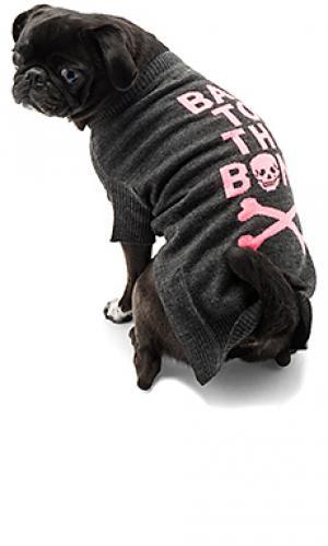 Свитер для собаки bad to the bone 360 Sweater. Цвет: уголь