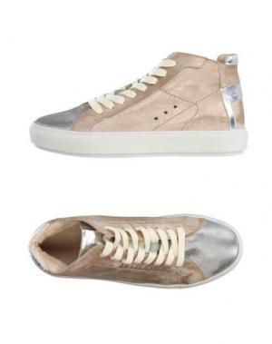 Высокие кеды и кроссовки JANET SPORT. Цвет: серебристый