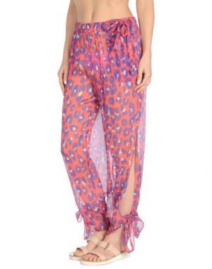 Пляжные брюки и шорты DIANE VON FURSTENBERG SOLEIL. Цвет: коралловый