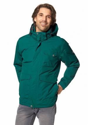 Куртка POLARINO. Цвет: темно-зеленый