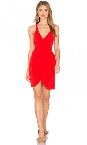 Платье morrow Privacy Please. Цвет: красный