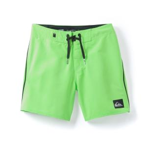 Шорты пляжные двухцветные 8 - 16 лет Quiksilver® QUIKSILVER. Цвет: зеленый