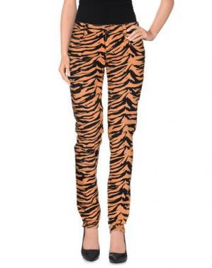 Повседневные брюки FIORUCCI. Цвет: оранжевый
