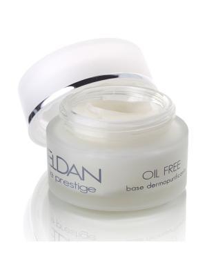 Увлажняющий крем-гель для жирной кожи ELDAN cosmetics. Цвет: светло-желтый