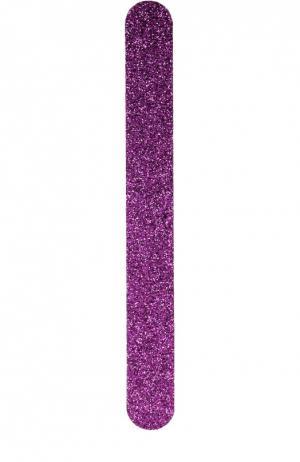 Пилка для ногтей, оттенок Розово-фиолетовый Kure Bazaar. Цвет: бесцветный