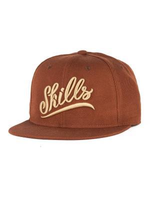 Бейсболка SKILLS 02. Цвет: коричневый