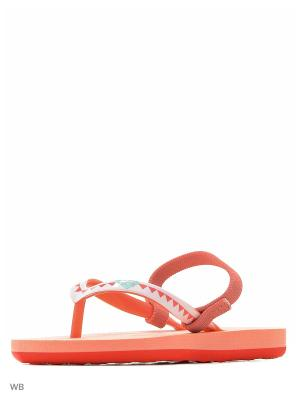 Пантолеты ROXY. Цвет: оранжевый