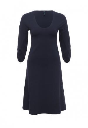 Платье Firkant. Цвет: синий