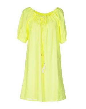 Короткое платье ..,MERCI. Цвет: желтый