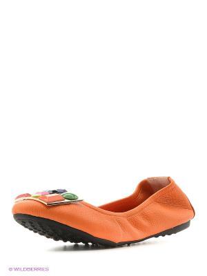 Балетки Vitacci. Цвет: оранжевый