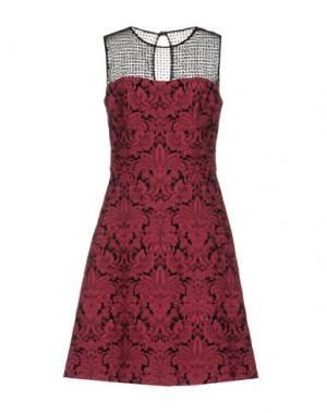 Короткое платье GIO' GUERRERI. Цвет: светло-фиолетовый