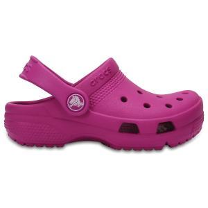 Сабо Kids Crocs Coast Clog. Цвет: фуксия
