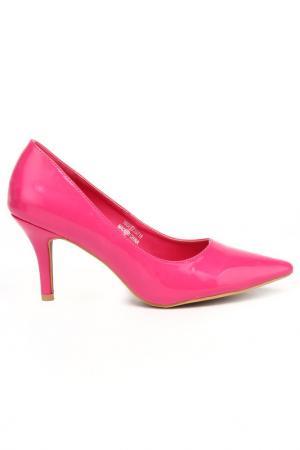 Туфли DERI&MOD. Цвет: фуксия