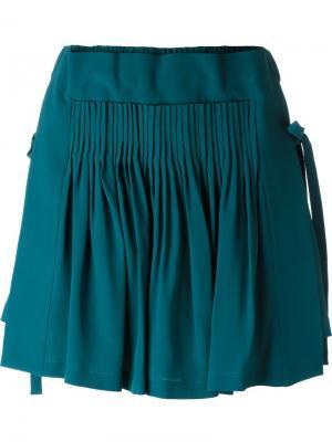 Юбка мини Nº21. Цвет: синий