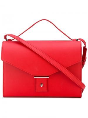 Сумка-конверт на плечо Pb 0110. Цвет: красный