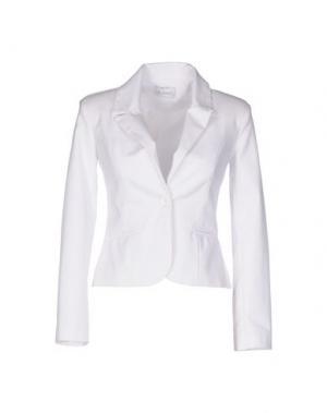 Пиджак LA KORE. Цвет: белый