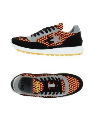 Низкие кеды и кроссовки 2STAR. Цвет: оранжевый