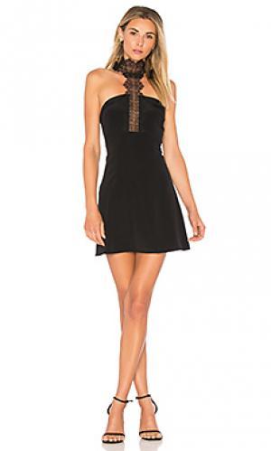 Платье the callie CAMI NYC. Цвет: черный