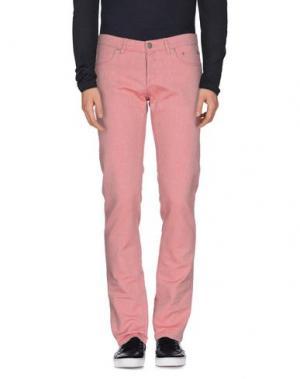 Джинсовые брюки SIVIGLIA WHITE. Цвет: пастельно-розовый